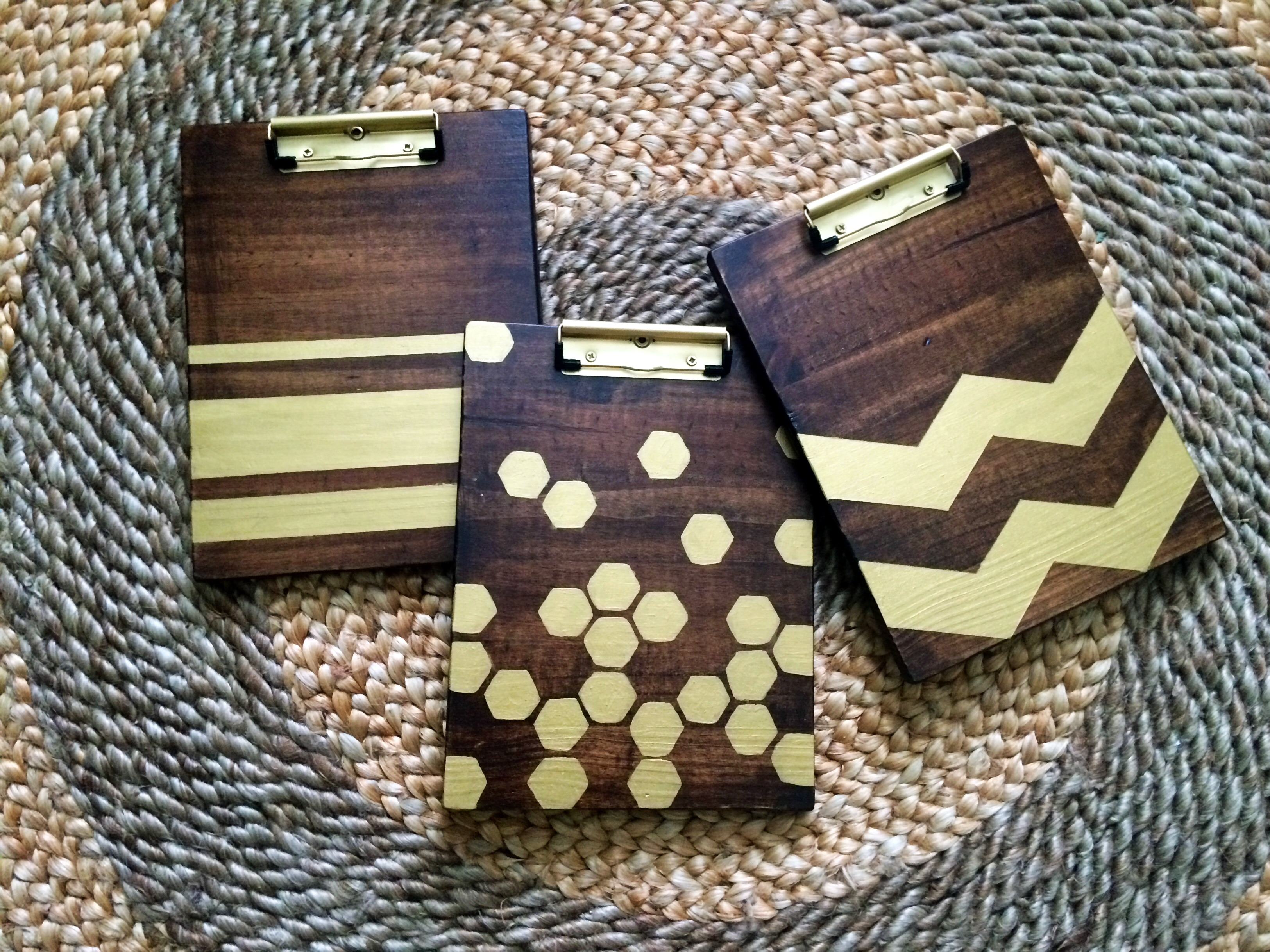 Diy Wooden Clipboard Within The Grove