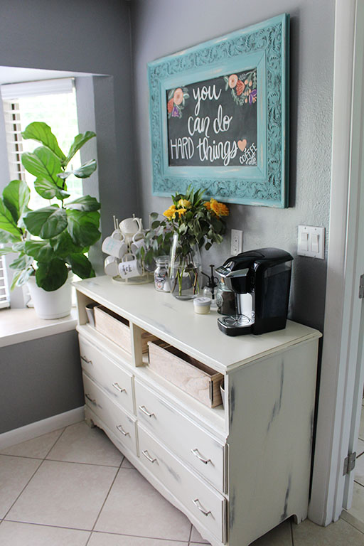 Home Project Kitchen Coffee Bar