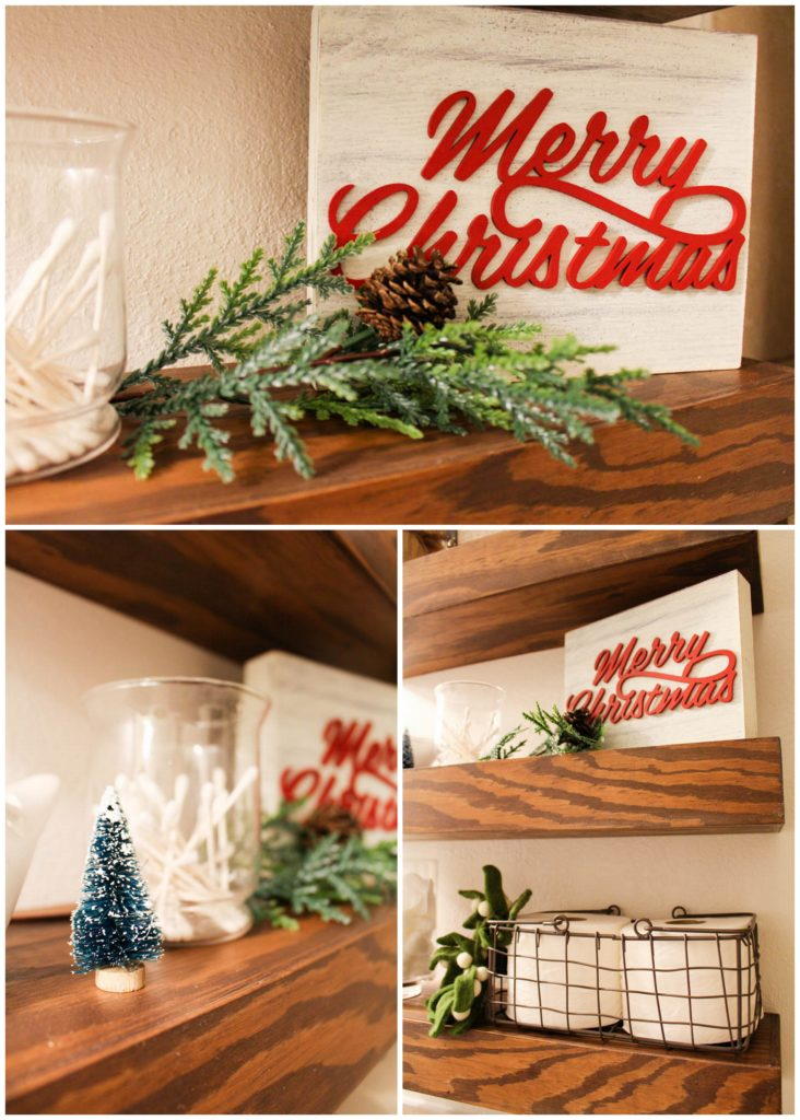 Decorating the Guest Bathroom for the Holidays