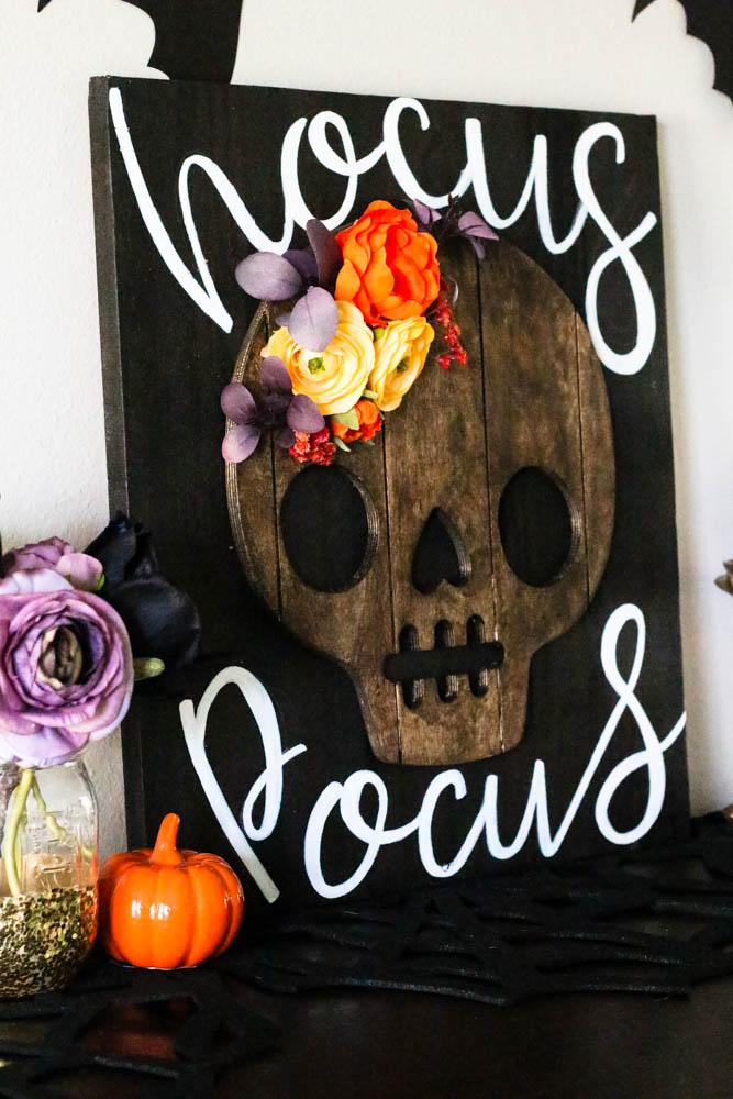 One Spot Diy Hocus Pocus Halloween Sign